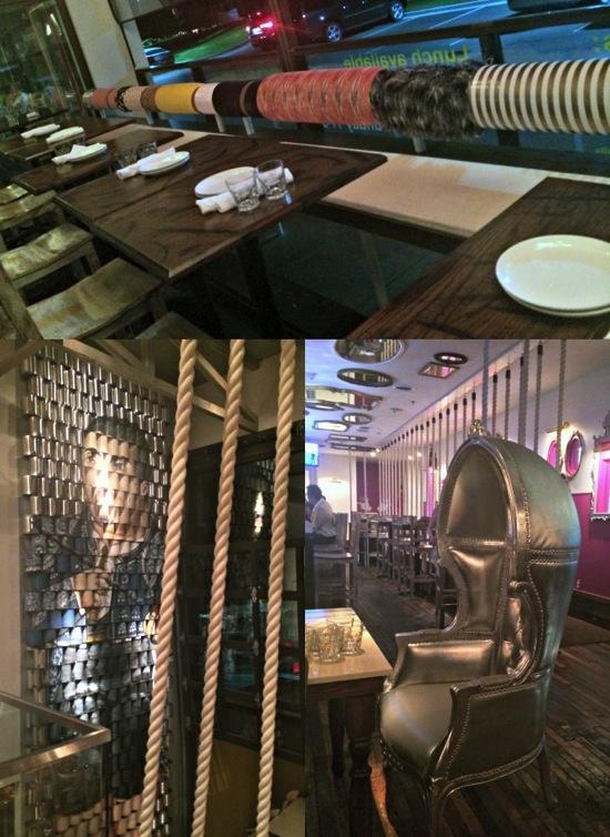 MEX restaurant decorations collage jpg