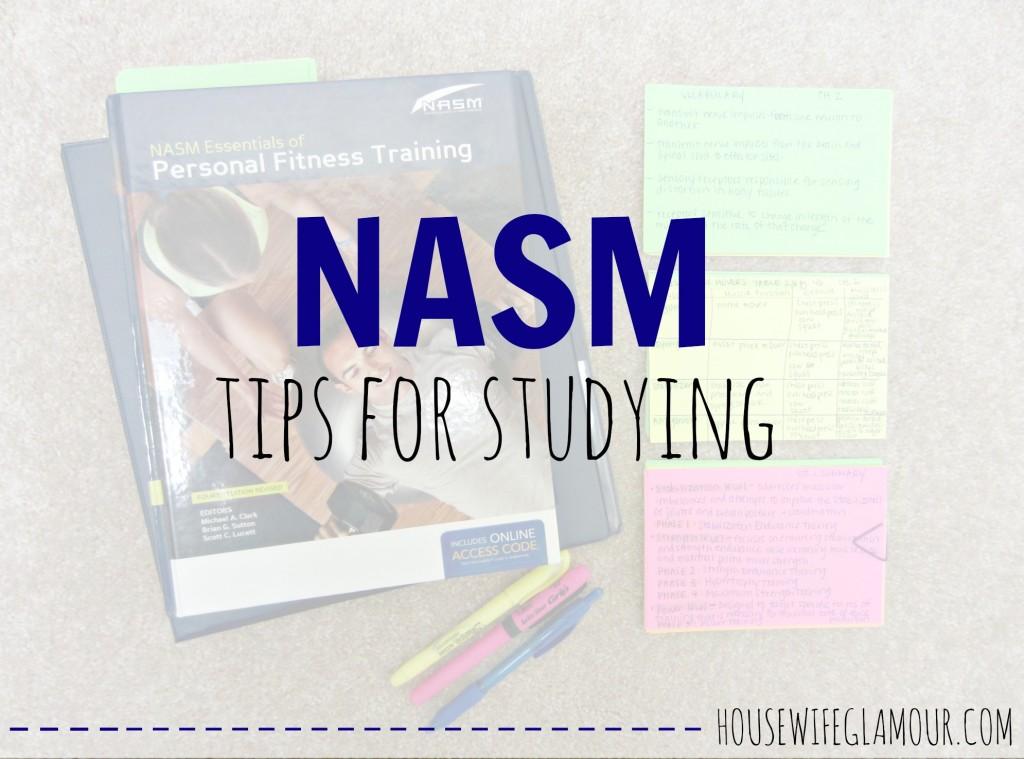 NASM Study Tips
