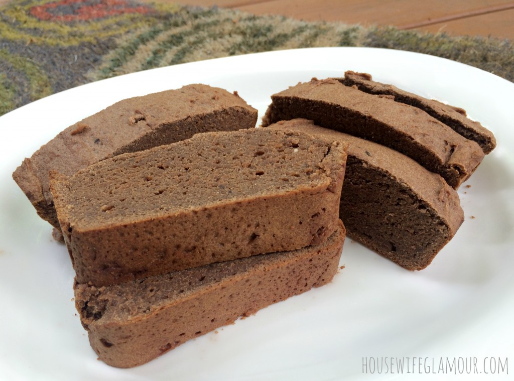 choc vegan inspired banana bread