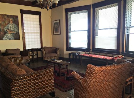 Galveston beach house living room jpg