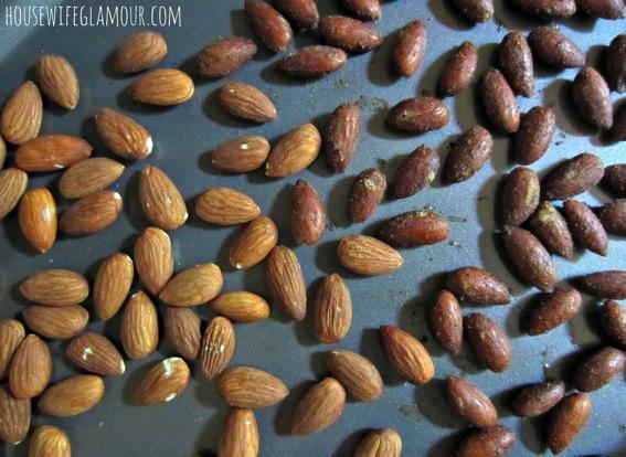 How to roast almonds jpg