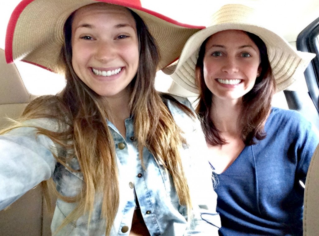 in our beach floppy hats