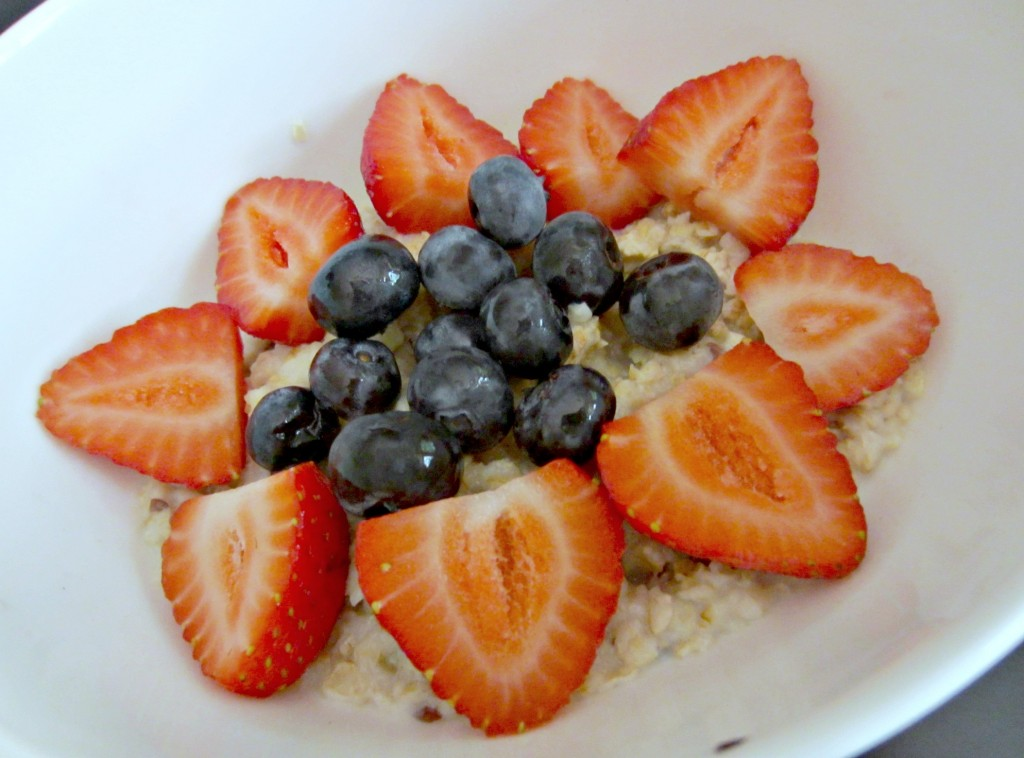 natures path oatmeal with berries