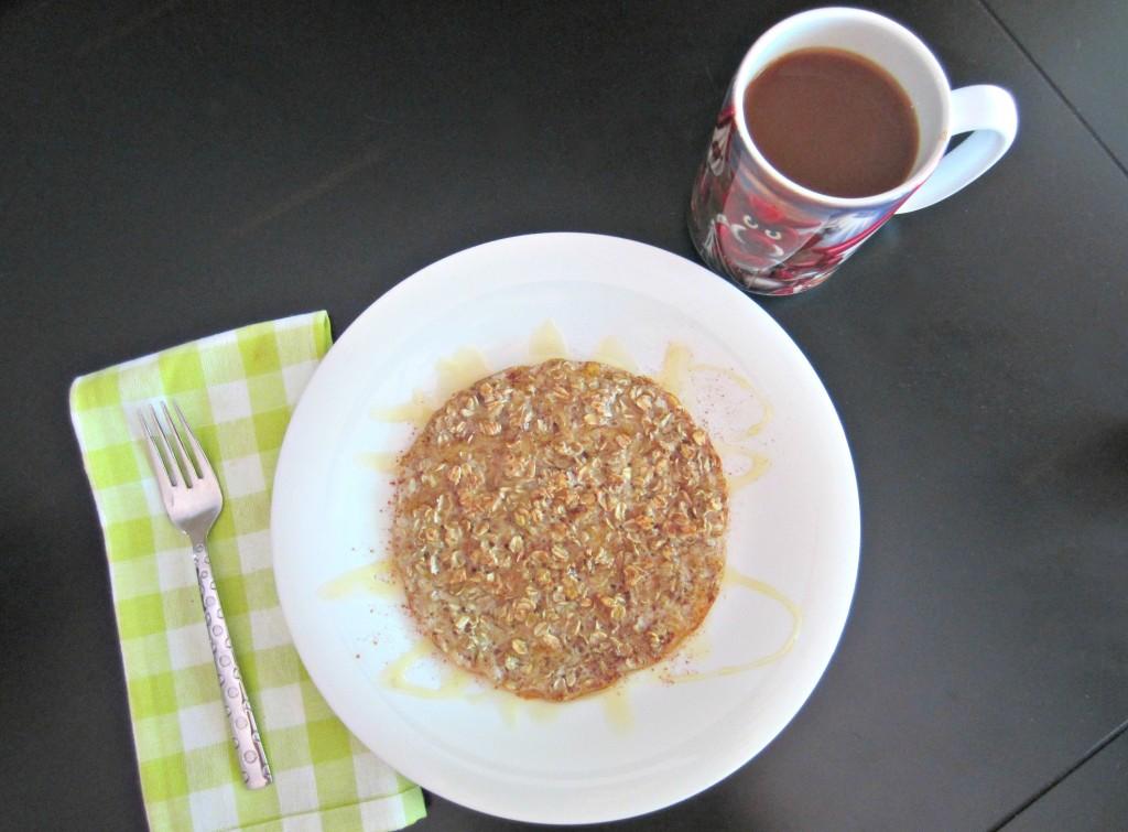 oats and egg healthy pancake breakfast