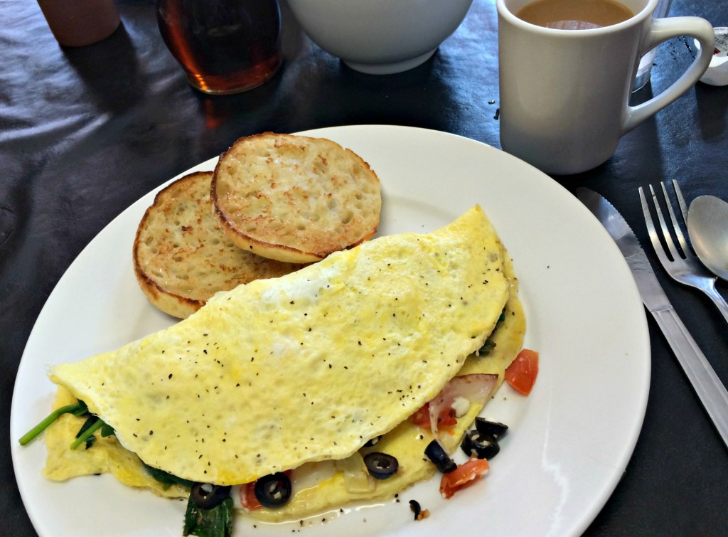the best Greek omelet