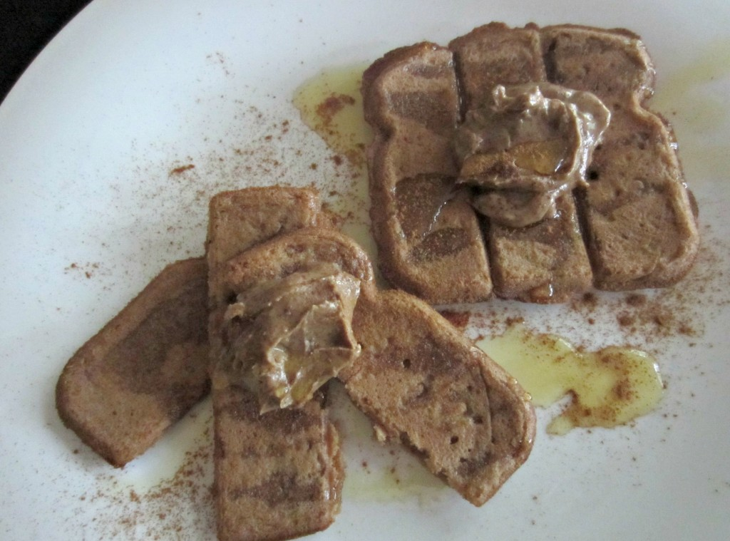 vans gluten free french toast sticks with pb and honey