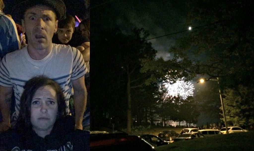 watching fireworks fail