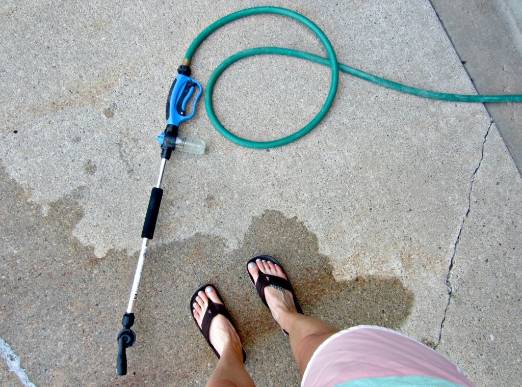 water hose attachment for washing cars