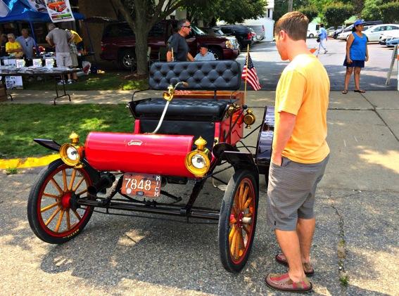 1903 oldsmobile classic car