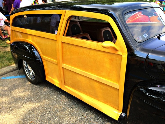 1948 ford station wagon custom wood paneling