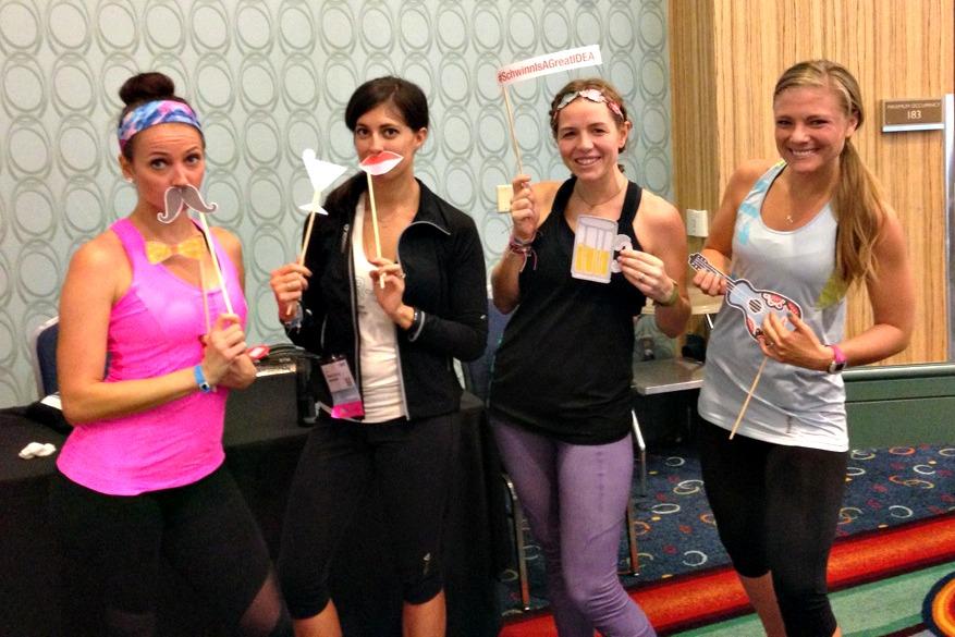 After schwinn spinning at IDEA World Fitness Convention