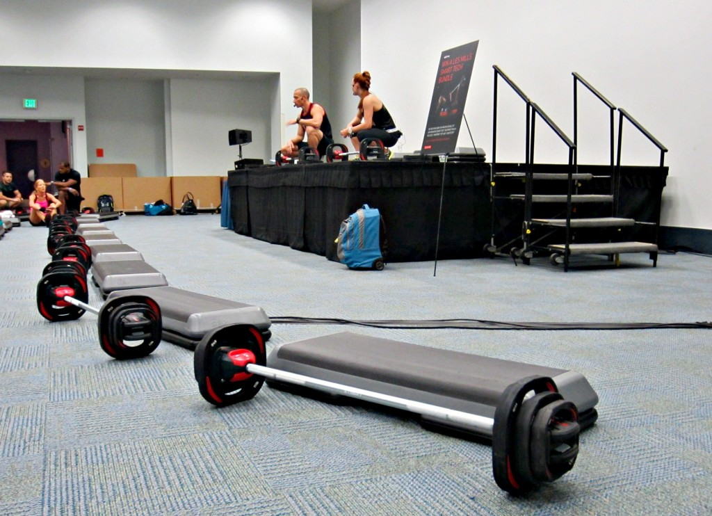 BodyPump at IDEA World Fitness Convention
