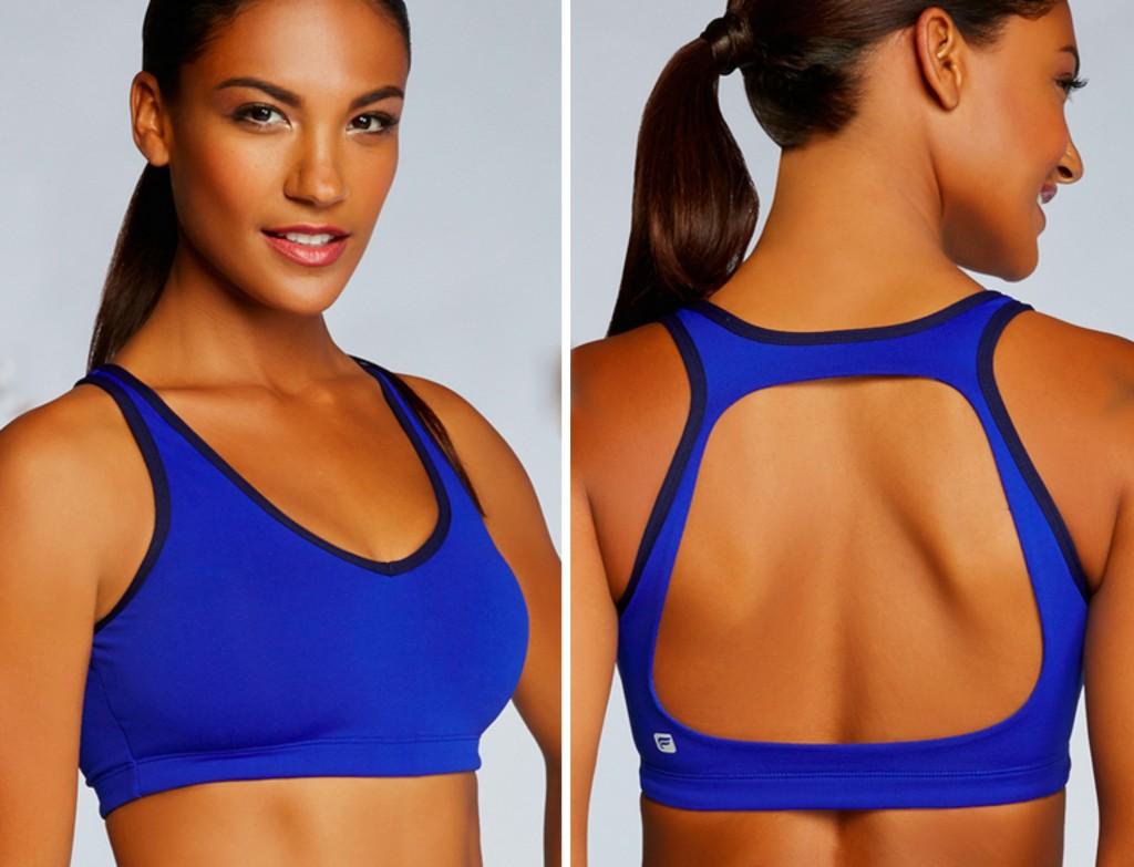Fabletics Koia Sports Bra blue