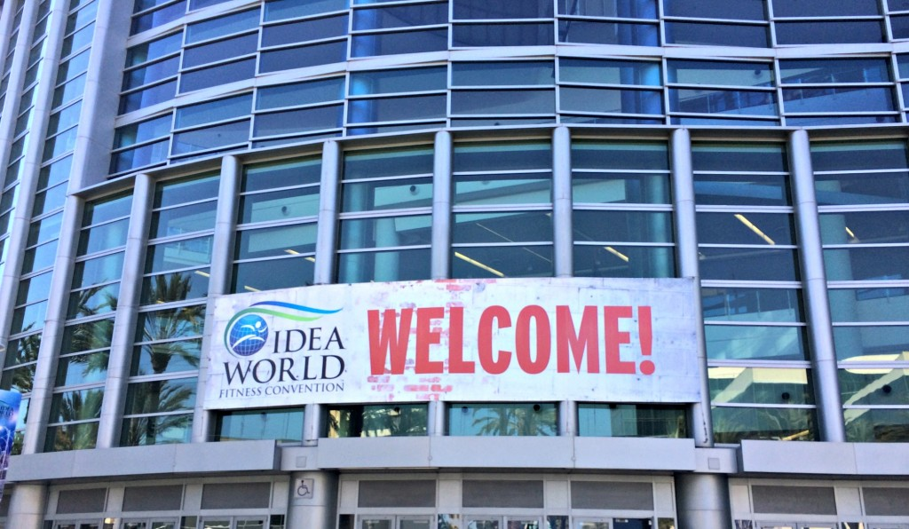 IDEA World Fitness Convention Welcome