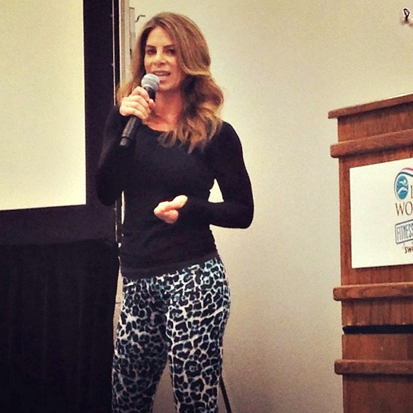 Jillian Michaels at IDEA BlogFest 2014