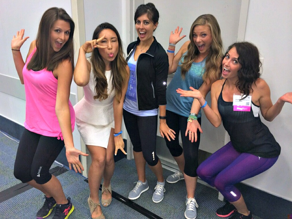 Meeting Blogilates at IDEA World Fitness Convention