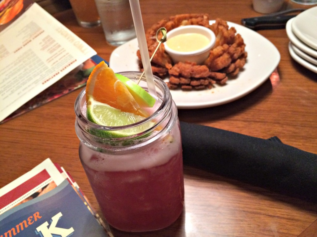 Outback blackberry sangria and bloomin onion.jpg