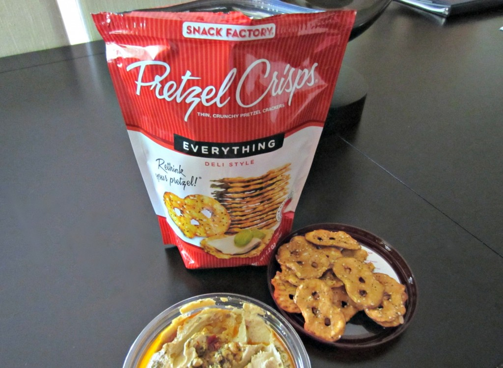 Pretzel Crisps Everything Flavor