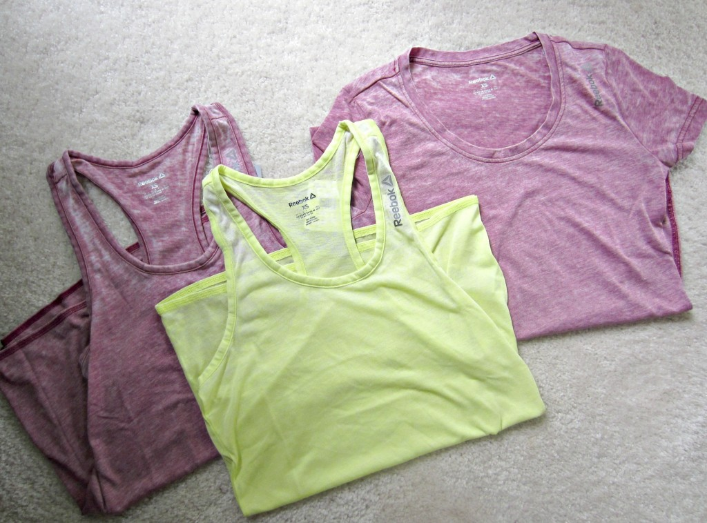 Reebok Yoga Tees and tops