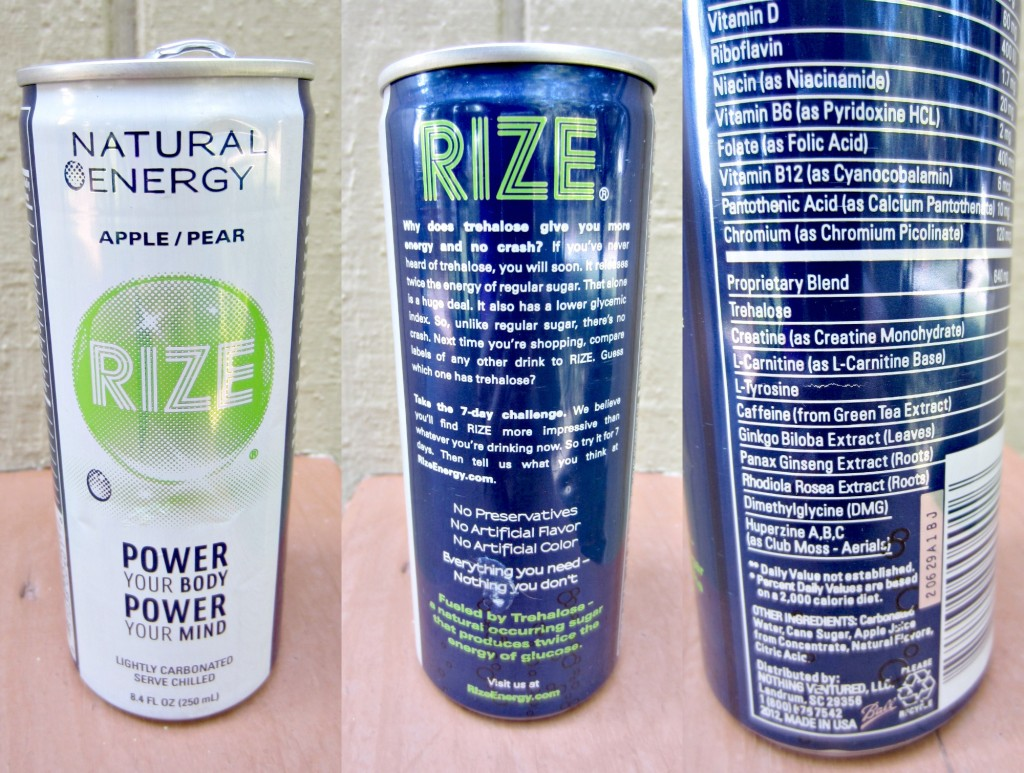Rize Natural Energy Drink