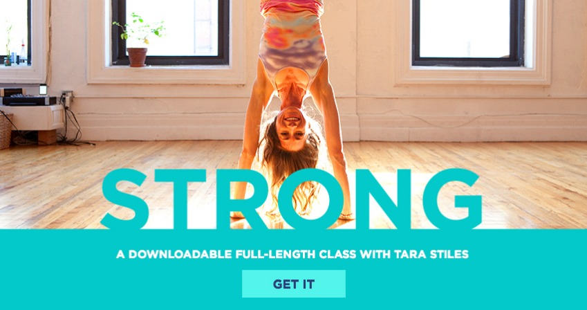 STRONG strala yoga with Tara Stiles