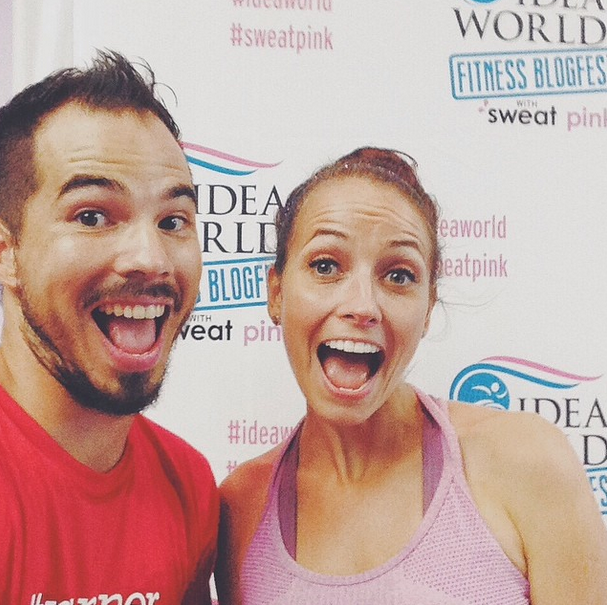 Pavement Runner and Housewife Glamour at IDEA World Fitness Convention and BlogFest