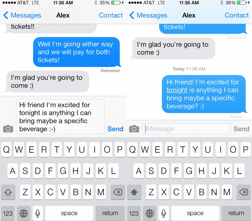 Talk to text feature iphone