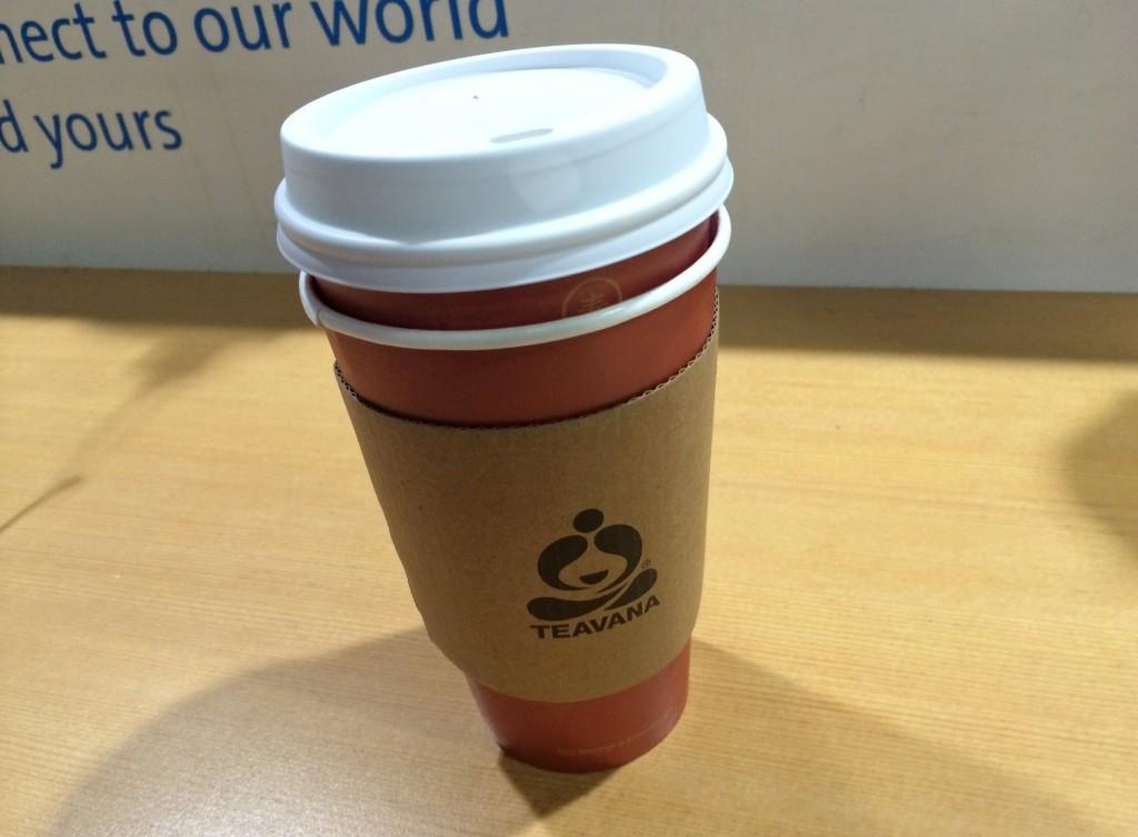 Teavana tea cup