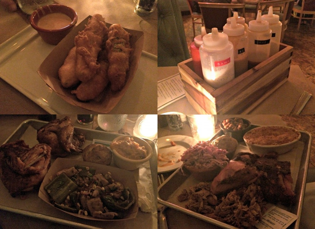 Union Woodshop BBQ dinner