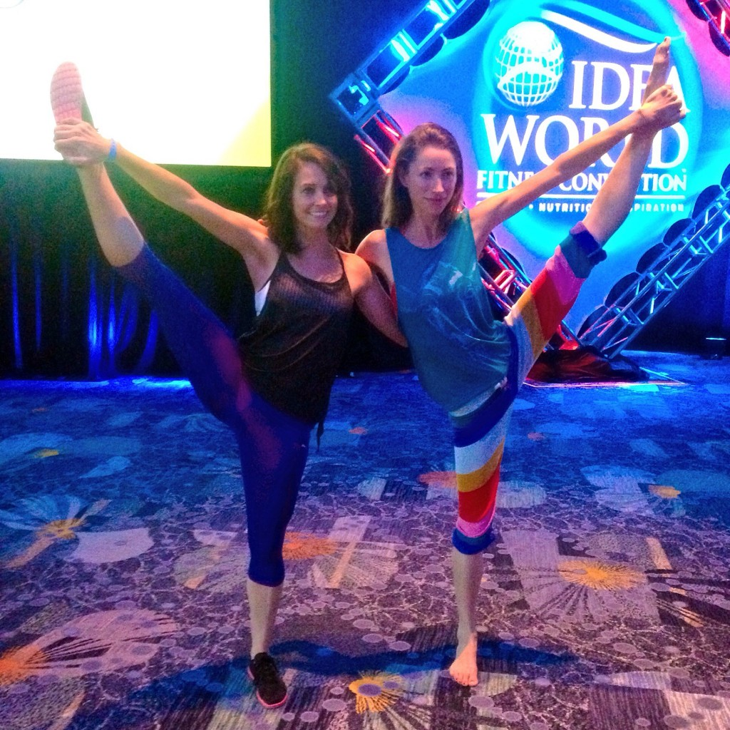 Yoga with Tara Stiles IDEA World Fitness Convention session