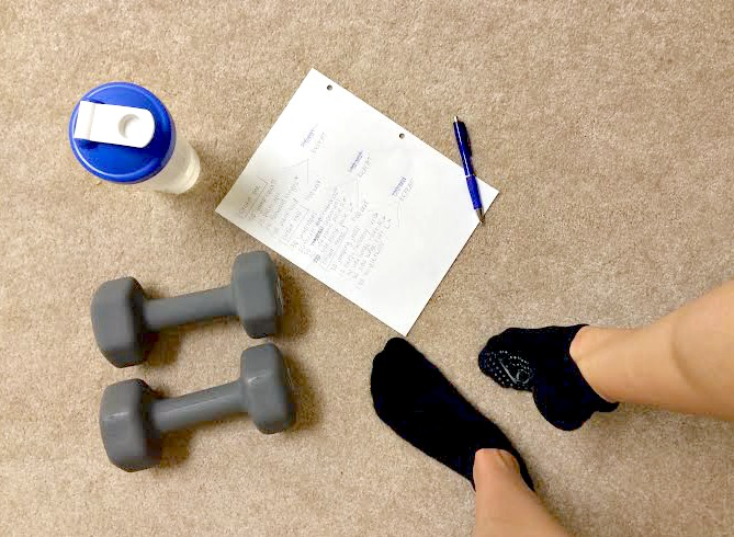 creating at-home workouts