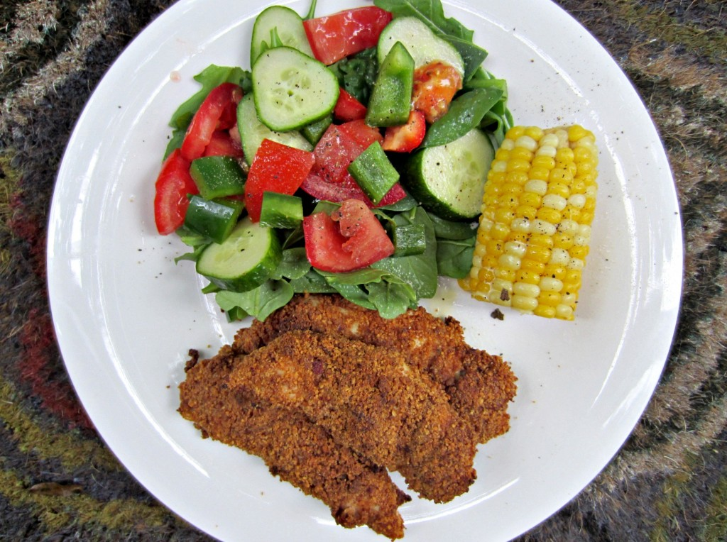 honey roasted almond chicken tenders