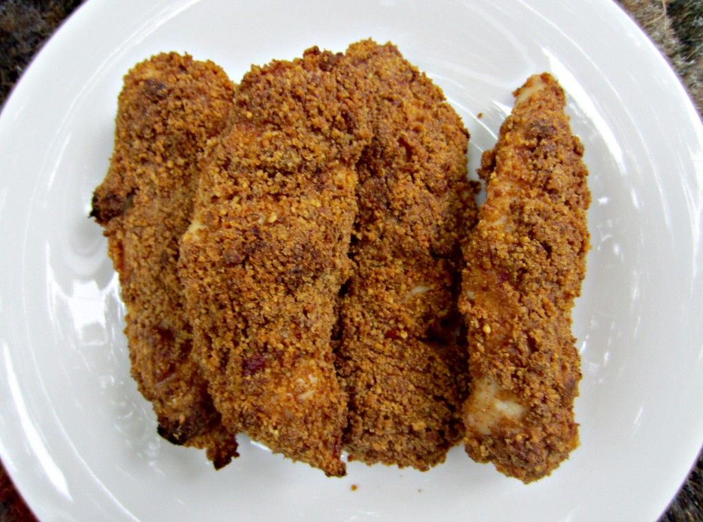 honey roasted chipotle almond breaded chicken tenders