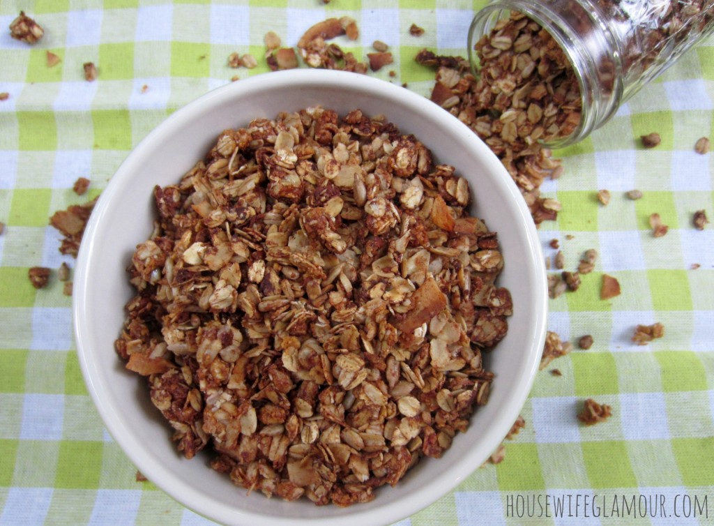 honey roasted vanilla almond granola