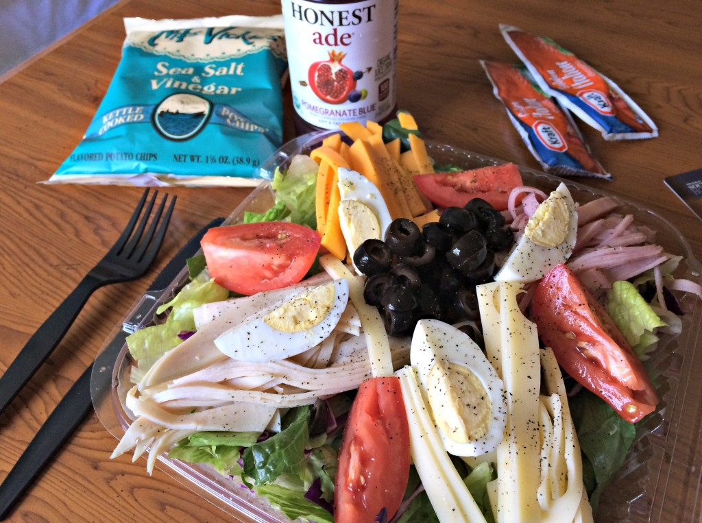 hotel chef salad and hoestade