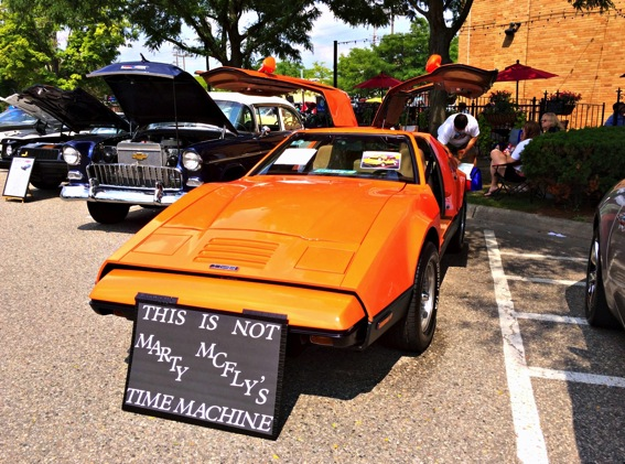 Marty mcfly s time machine look a like car