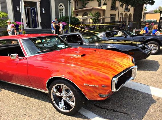 Rochester car show
