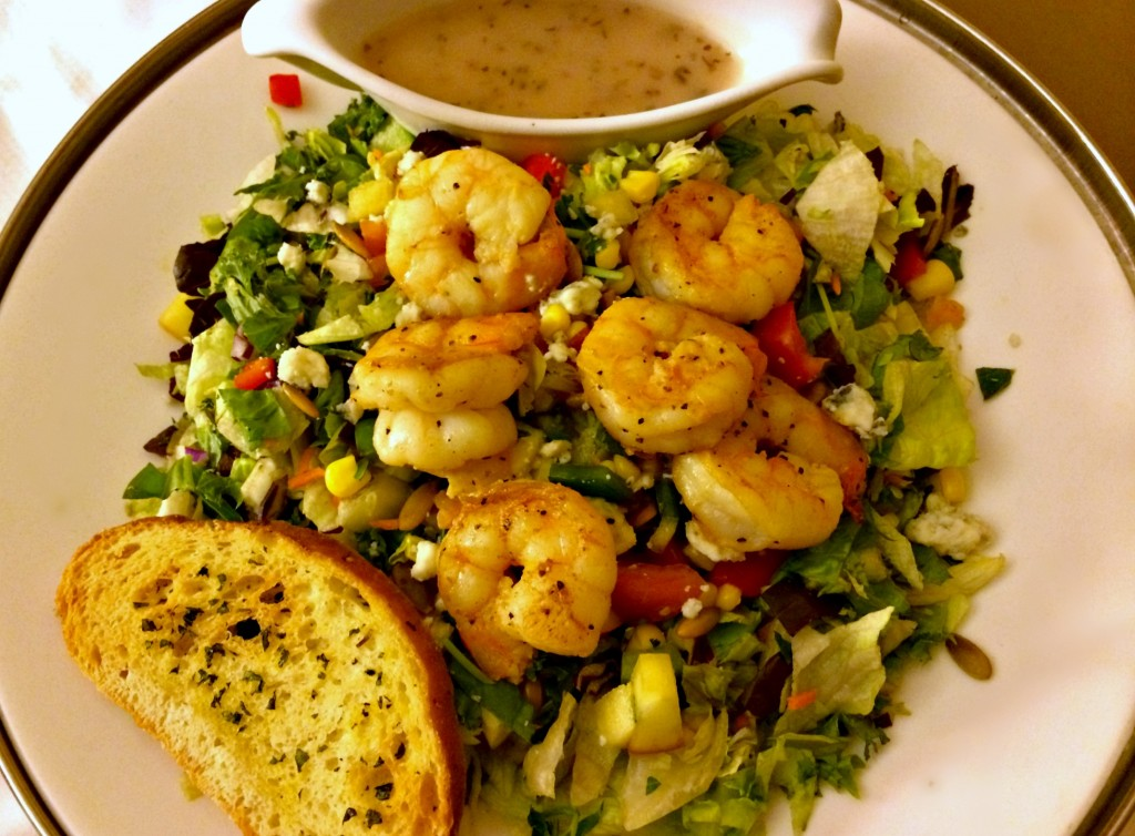 shrimp market fresh salad marriott anaheim