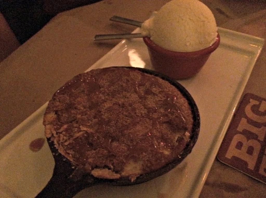 woodshop dessert