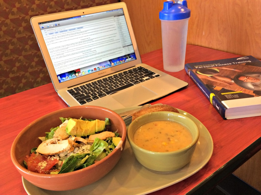 working and studying at panera