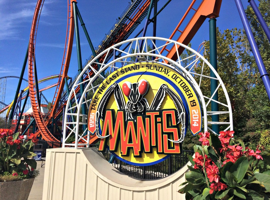 Cedar Point Mantis ride