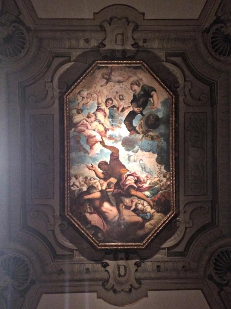 DIA mural ceiling