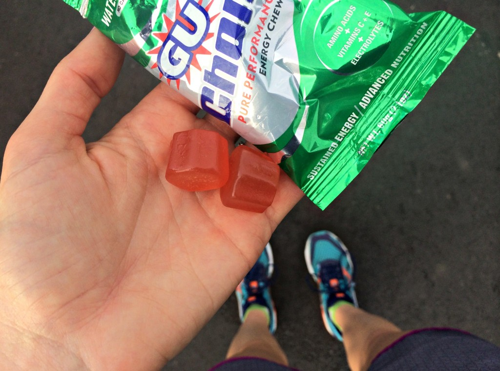 Gu chomps performance energy chews