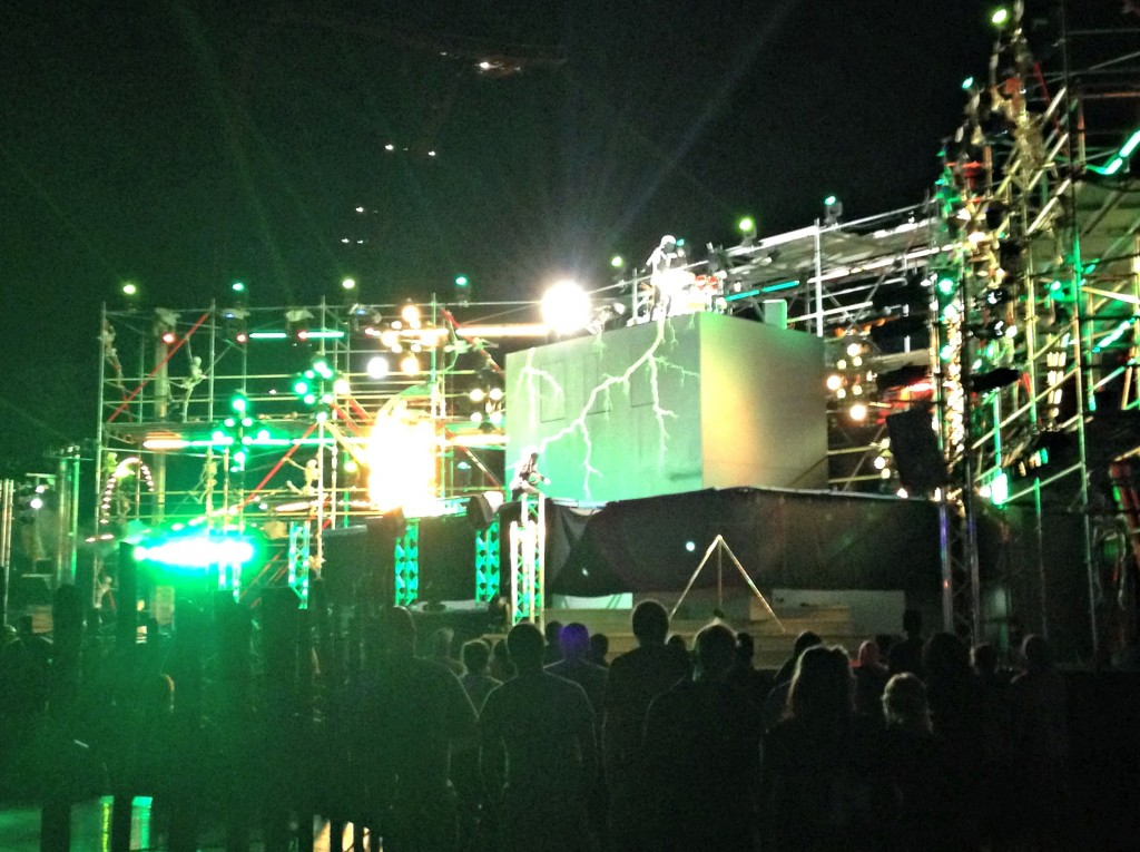 HalloWeekend stage show cedar point