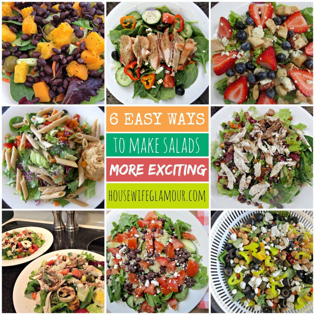 How to make a salad more exciting
