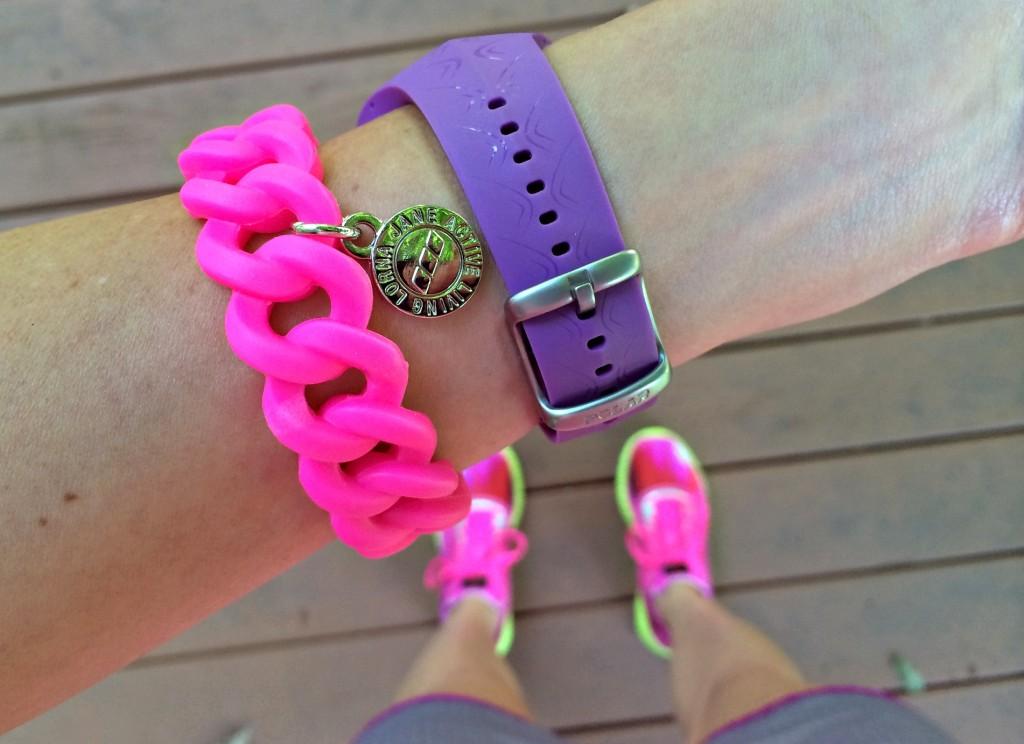 Lorna Jane Move Nourish Believe bracelet