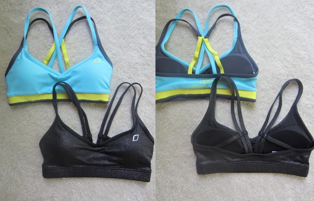 Lorna Jane sports bras activewear