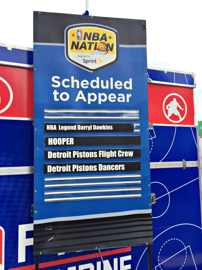 NBA Nation Detroit Pistons entertainment teams