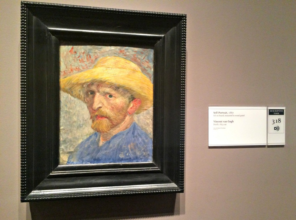 Vincent Van Gogh self portrait DIA
