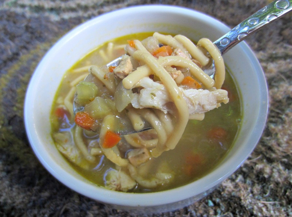 amy's chicken noodle soup with chicken